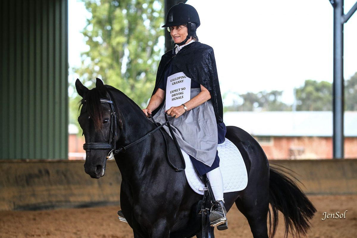 Liz Baynham and Wilga Park Cabernet - Costume Class