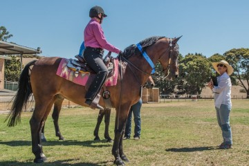 Mt Tawonga Campbell and Kerry Hill Western ridden class