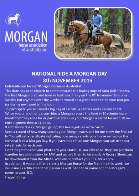 National Ride a Morgan Day 2015 Brochure_Page_1