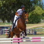 Rachel Whan Showjumping Red Bluff Clear Wind
