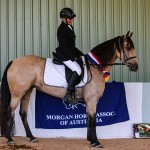 Wilga Park Boquila and Helen Palfreyman Champion Ridden Pure Mare
